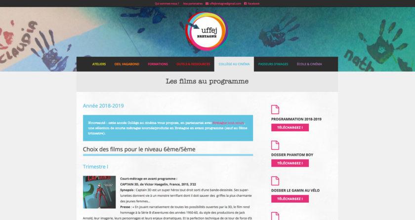 UFFEJ Bretagne | Union Française du Film pour l'Enfance et la Jeunesse